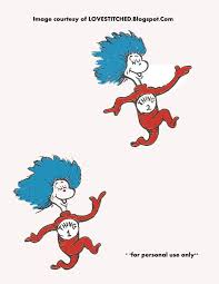 thing 1 boy and thing 2 clipart bbcpersian7 collections