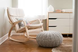 Rocking Chair Baby Nursery Ikea Poang Rocking Chair For Gray And White Nursery Colin S Room