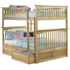 Atlantic Furniture Columbia Full Over Full Bunk Bed Hayneedle - Full bunk bed