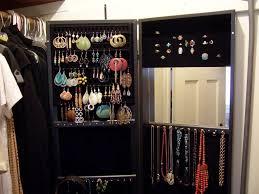 Wall Mount Jewelry Cabinet Wall Mount Jewelry Armoire Application U2014 Jen U0026 Joes Design