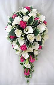 wedding flowers bouquet wedding flowers bouquets brides bouquet cala lilies hot pink roses