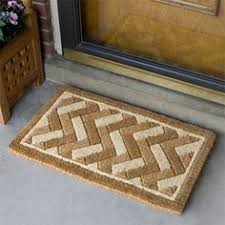 Coir And Rubber Doormat Coir With Rubber Frame Doormat From Restoration Hardware Odds