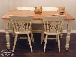 pine farmhouse table annie compean sloan wax mix on the top to