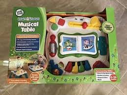 learn and groove table leap frog educational toy learn and groove musical table ebay