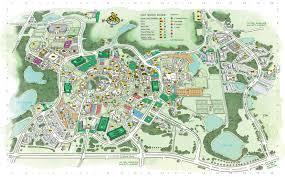 Aquatica Map Ucf Map Map Of Ucf Florida Usa
