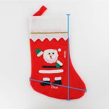 plush bags socks stocking x u0027mas santa claus christmas gifts