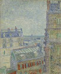 view of paris from vincent u0027s room in the rue lepic wikipedia