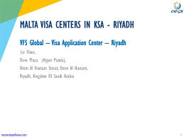 visa requirements saudi arabia to malta tourist visit