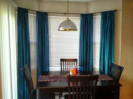Bay Window Treatment Ideas by Home Design Dining Room Bay Window Curtain Ideas Intended For 87