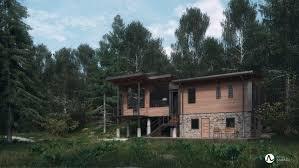 adrian jaśkiewicz forest house 2 0 u2013 exterior 2