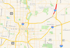 Interstate 10 Map Stretch Of I 35 To Shut Down For Four Days And U0027it U0027s Going To U0027