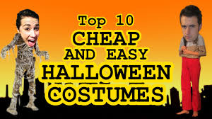cheap family halloween costumes top 10 cheap halloween costumes w colleen ballinger youtube