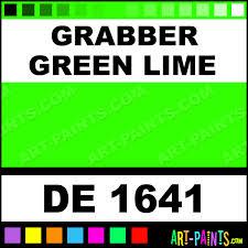 grabber green lime engine enamel paints de 1641 grabber green