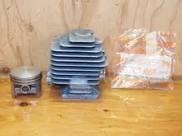 stihl 028av chainsaw 44mm bore piston and cylinder set 1118 020