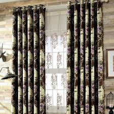 Brown Floral Curtains Popular Product For Vintage Curtains On Curtainhomesale Com