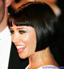 what is a convex hair cut danni minogue s short convex bob sleek short hairdo last hair