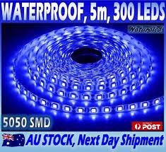 blue led strip lights 12v lighting fans home u0026 garden