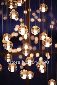 aliexpress com buy meteor shower pendant lights with 26