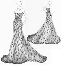 wedding dresses handpainted manuscript on behance
