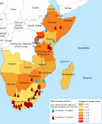 East Africa Map Spotlight On Climate And Environment East And Southern Africa