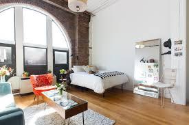 studio apartments design on popular monochromatic apartment