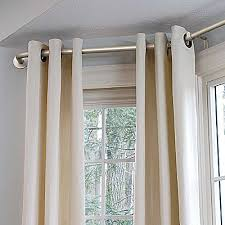Spotlight Continuous Curtaining Best 25 Bay Window Curtain Rod Ideas On Pinterest Corner