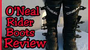 oneal element motocross boots o u0027neal rider boots review moto6sanity moto6 review youtube
