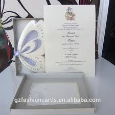 scroll wedding programs 2015 hot sale royal butterfly scroll wedding invitation card