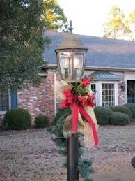 Outdoor Christmas Decorations Lamp Post by Outdoor Santa Claus Decorations Foter