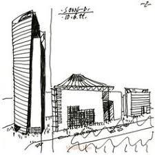 Sony Centre Floor Plan Architecture Illustration Simple Pen Pinterest Architecture