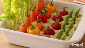 Make A Vegetable Garden by Snack Recipes How To Make A Spring Herb Hummus Vegetable Garden