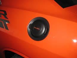 dodge challenger fuel removing fuel door insert dodge challenger forum