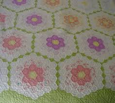flower garden quilt pattern 13 best photos of grandmas old quilt