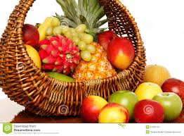 fruit basket fruit basket royalty free stock images image 27552129
