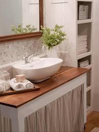 Bathroom Counter Ideas Bathroom Countertop Ideas Round White Porcelain Sink Bowl White