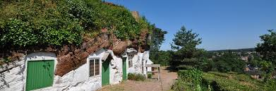 10 orphan row houses so lonely you ll want to take them kinver rock houses the original hobbit holes britain