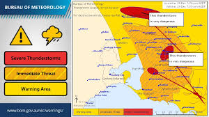 location bureau 12 bureau of meteorology on updated severe