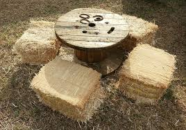 Wire Spool Table Maui Table Rental Island Rents Maui
