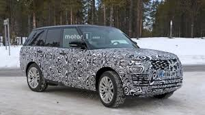 nissan leaf spy shots spy shots capture 2018 range rover phev conducting winter testing