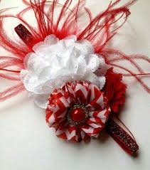 christmas headbands 377 best diy hairbows christmas images on hairbows