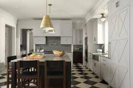 Kitchen Design Black And White Black And White Backsplash Houzz