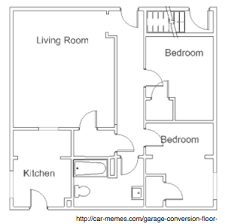 Convert Living Room To Bedroom Convert Your Garage Into A Flat U0026 Rent It Out Theroomlink