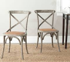 Distressed Dining Set Amh9500d Set2 Dining Chairs Furniture By Safavieh