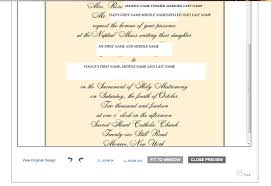 Catholic Wedding Invitation Wording Wedding Invitation Wording Divorced And Remarried Parents
