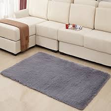 Washable Rugs Hughapy Home Decorator Modern Shag Area Rugs Super Soft Solid