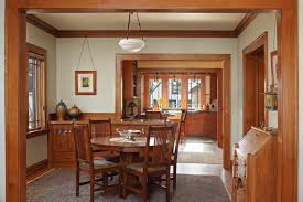 Craftsman Home Interior Design Montrose Place Bungalow Remodel David Heide Design Studio