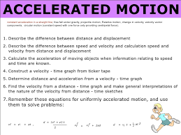 2 accelerated motion