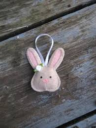 felt bunny rabbit ornament felt bunny bunny rabbit and felting