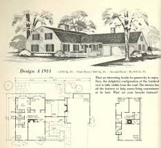 new england floor plans vintage house plans gambrel roof 1970s renovations pinterest
