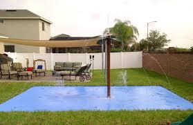 splash pads for the home and backyard rain deck